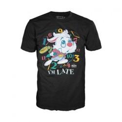 Figur T-shirt Alice in Wonderland White Rabbit Limited Edition Funko Geneva Store Switzerland