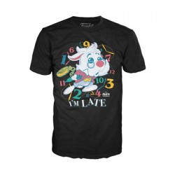 Figurine T-shirt Alice au Pays des Merveilles Lapin Blanc Edition Limitée Funko Boutique Geneve Suisse