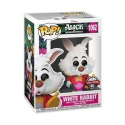 Figur Pop Flocked Alice in Wonderland White Rabbit Limited Edition Funko Geneva Store Switzerland