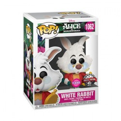 Figurine Pop Floqué Alice au Pays des Merveilles Lapin Blanc Edition Limitée Funko Boutique Geneve Suisse