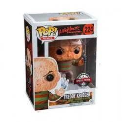 Figurine Pop A Nightmare on Elm Street Freddy Krueger Doigts Seringues Edition Limitée Funko Boutique Geneve Suisse