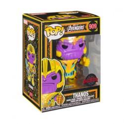 Figurine Pop Marvel Blacklight Thanos Edition Limitée Funko Boutique Geneve Suisse