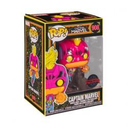 Figurine Pop Marvel Blacklight Captain Marvel Edition Limitée Funko Boutique Geneve Suisse