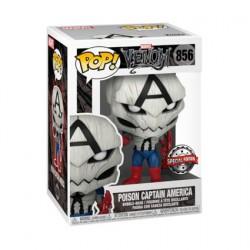 Figurine Pop Venom Poison Captain America Edition Limitée Funko Boutique Geneve Suisse