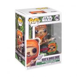 Figur Pop Star Wars Across the Galaxy Wicket W. Warrick Endor Red with Enamel Pin Limited Edition Funko Geneva Store Switzerland