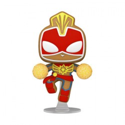 Figur Pop Marvel Holiday Captain Marvel Funko Geneva Store Switzerland