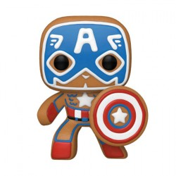 Figur Pop Marvel Holiday Captain America Funko Geneva Store Switzerland