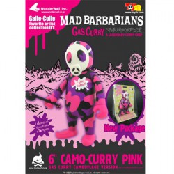 Figurine Gas Curry Pink Camo 15 cm par Madbarbarians Toy2R Boutique Geneve Suisse