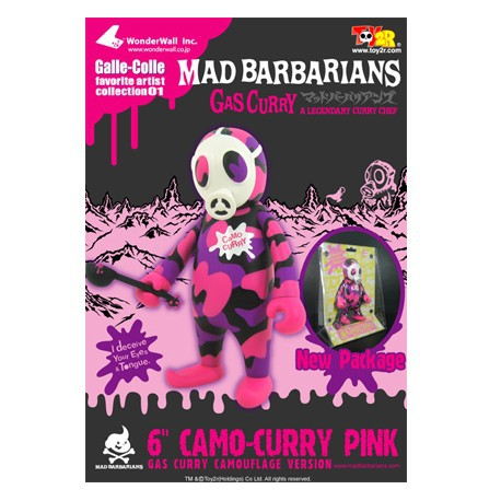 Figur Gas Curry Pink Camo 15 cm by Madbarbarians Toy2R Geneva Store Switzerland