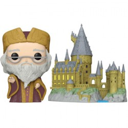 Figur Pop Town Harry Potter Dumbledore with Hogwarts Funko Geneva Store Switzerland