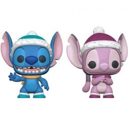 Figur Pop Lilo and Stitch Winter Stitch and Angel 2-Pack Limited Edition Funko Geneva Store Switzerland