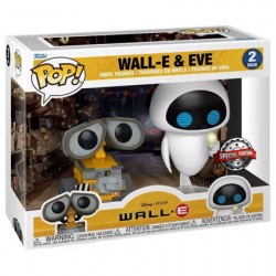 Figur Pop Wall-E Cooler Wall-E and Bulb Eve 2-Pack Limited Edition Funko Geneva Store Switzerland