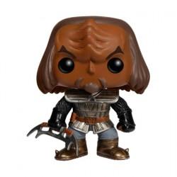 Figurine BOÎTE ENDOMMAGÉE Pop Star Trek The Next Generation klingon (Rare) Funko Boutique Geneve Suisse
