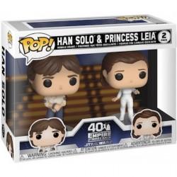 Figuren Pop Star Wars Han und Leia 2 Pack Funko Genf Shop Schweiz