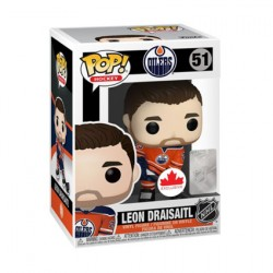 Figurine Pop Hockey NHL Oilers Leon Draisaitl (Home) Edition Limitée Funko Boutique Geneve Suisse