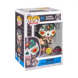 Figurine Pop Phosphorescent Batman Bane Dia De Los DC Edition Limitée Funko Boutique Geneve Suisse
