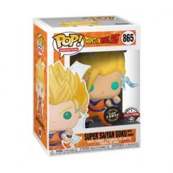 Figurine Pop Phosphorescent Dragon Ball Z Goku Super Saiyan 2 Chase Edition Limitée Funko Boutique Geneve Suisse