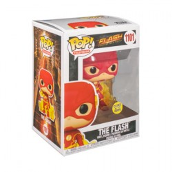 Figur Pop Glow in the Dark The Flash 2014 The Flash with Energy Base Limited Edition Funko Geneva Store Switzerland