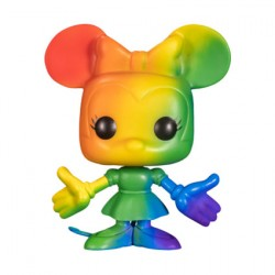 Figur Pop Pride Mickey Mouse Minnie Mouse Rainbow Limited Edition Funko Geneva Store Switzerland