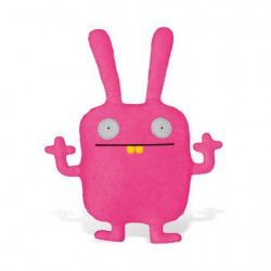 Figurine Peluche Uglydoll Wippy (18 cm) par David Horvath Pretty Ugly Boutique Geneve Suisse
