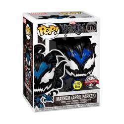 Figurine Pop Phosphorescent Venom Spider-Man April Parker Mayhem Edition Limitée Funko Boutique Geneve Suisse