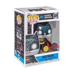 Figuren Pop Phosphoreszierend Batman Dia de los Muertos Limitierte Auflage Funko Genf Shop Schweiz