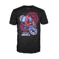 Figur T-shirt Artist Series Captain America Civil War Limited Edition Funko Geneva Store Switzerland