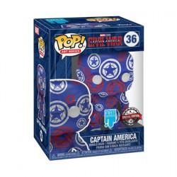 Figurine Pop Artist Series Captain America Civil War Edition Limitée Funko Boutique Geneve Suisse