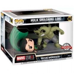 Figurine Pop Marvel Movie Moments The Hulk Smashing Loki Limited Edition Funko Boutique Geneve Suisse