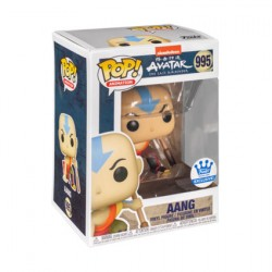 Figurine Pop Avatar The Last Airbender Aang Accroupi Edition Limitée Funko Boutique Geneve Suisse