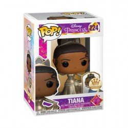 Figurine Pop The Princess and the Frog Tiana Ultimate Princess Gold avec Pin's Edition Limitée Funko Boutique Geneve Suisse