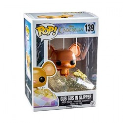 Figur Pop Disney Cinderella Gus Gus Glitter Limited Edition Funko Geneva Store Switzerland