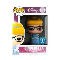 Figur Pop Disney Cinderella with Glasses Geek Limited Edition Funko Geneva Store Switzerland