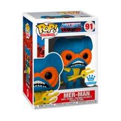 Figurine Pop Les Maîtres de l'Univers Mer-Man Bleu Edition Limitée Funko Boutique Geneve Suisse