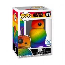 Figurine Pop Pride Star Wars BB-8 Arc-en-Ciel Edition Limitée Funko Boutique Geneve Suisse