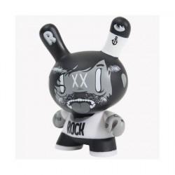 Figurine Dunny Le Dead Plastique par McBess Kidrobot Dunny et Kidrobot Geneve