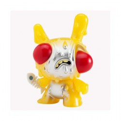 Figuren Meltdown Dunny Yellow GID von Chris Ryniak Kidrobot Genf Shop Schweiz