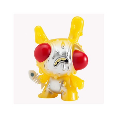 Figur Meltdown Dunny Yellow GID by Chris Ryniak Kidrobot Dunny 20 cm Geneva