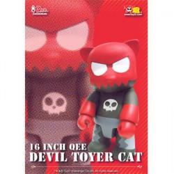 Figuren Qee Devil Toyer Cat 40 cm (Ohne Box) von Raymond Choy Toy2R Genf Shop Schweiz