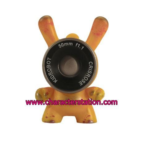 Figur Dunny 2013 Chase 1 by Cris Yellow Kidrobot Geneva Store Switzerland