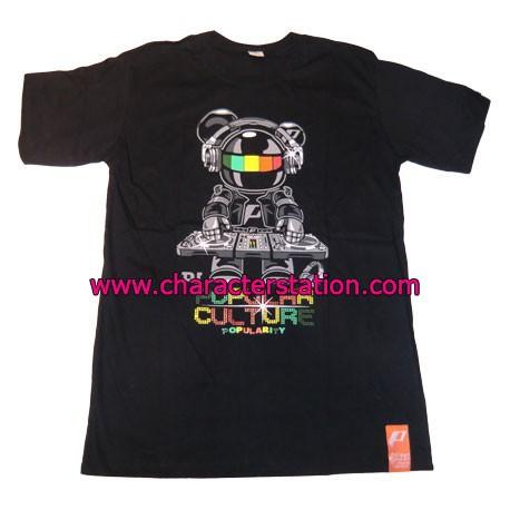 Figur T-shirt DJ Bear Geneva Store Switzerland