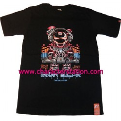 Figur T-shirt Iron DJ Geneva Store Switzerland