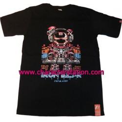 Figuren T-shirt Iron Bear DJ Genf Shop Schweiz