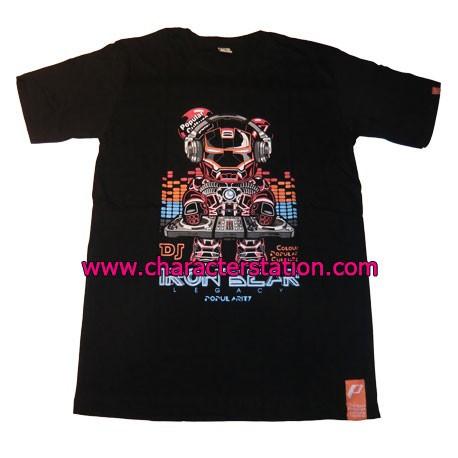 Figur T-shirt Iron Bear DJ Geneva Store Switzerland