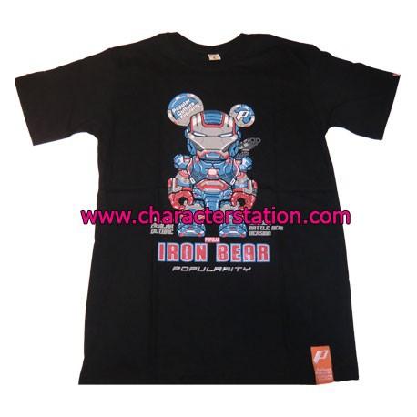 Figur T-shirt Iron Bear Patriot Geneva Store Switzerland