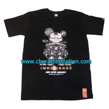 Figur T-shirt Iron Bear War Machine Geneva Store Switzerland