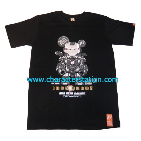 Figurine T-shirt Iron Bear War Machine Boutique Geneve Suisse