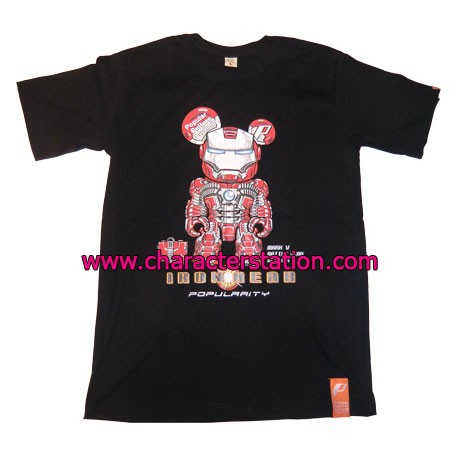 Figur T-shirt Iron Bear Geneva Store Switzerland
