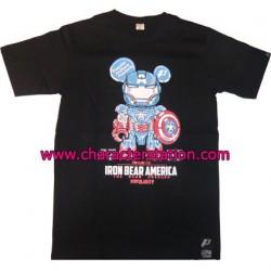 Figuren T-shirt Iron Captain Genf Shop Schweiz