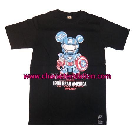Figur T-shirt Iron Captain T-Shirts Geneva